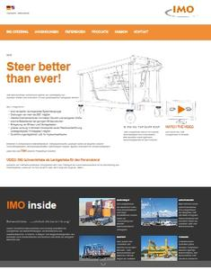 Steer better than ever - IMO Slewing Drives for steering gears