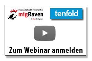 Webinar migRaven tenfold Button