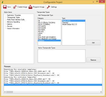 Konfigurationsmodul AppBlaster Tool, Bildquelle: Elatec