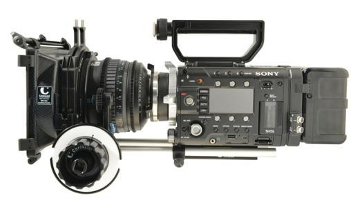 Leichtstützen für Sony PMW F5 und F55, und ein Paket für die Digitale Cinematographie in 4k