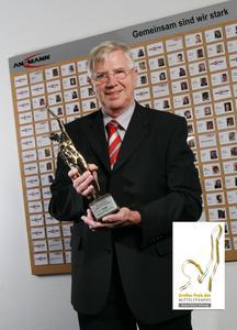 "ANSMANN AG Preisträger des ""Großen Preis des Mittelstandes"" der Oskar-Patzelt-Stiftung"