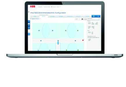 In der Detailplanung werden die individuellen Gebäudedaten eingegeben / Quelle: ABB