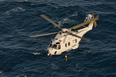 Airbus Helicopters delivers the first Swedish NH90 for anti-submarine warfare