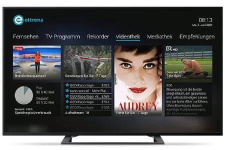 Screen Eltrona TV-Benutzeroberfläche