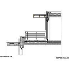 Vertikalschnitt Staffelgeschoss zu 2. OG / Bildnachweis: BRINGSARCHITEKTEN GmbH & Co. KG