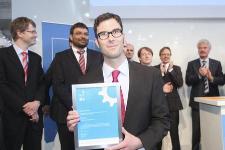 INDUSTRIEPREIS 2012 - Sieger Energie & Umwelt, juwi Holding AG: Felix Wächter