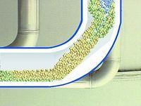 Der Master-Protect Rohrbogen in der illustrierten Seitenansicht, Foto: Masterflex AG