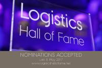 Selection logo of the Logistics Hall of Fame