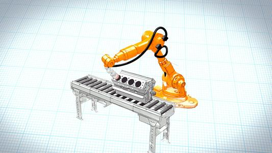 Roboterprüfzelle zur Innensichtprüfung