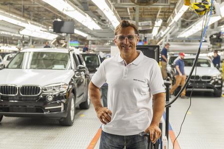 Alessandro Zanardi, BMW Werk Spartanburg