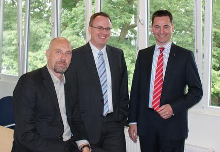 Carsten Meyer-Heder (team neusta), Klaus-Dieter Gerken (akquinet AG), Klaus-Hinrich Vater (Vater Unternehmensgruppe)