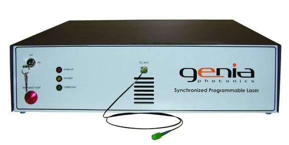 Programmable synchronized picosecond laser from Genia Photonics.