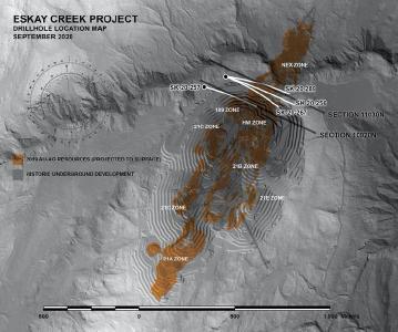 Skeena entdeckt Mineralisierung in der Tiefe von Eskay