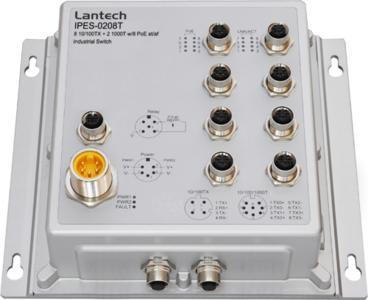 Lantech IPES-0208T-12V