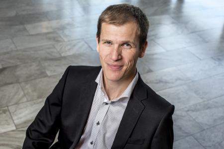 Samuel Nerdal, Produktmanager für elektrische und elektronische Komponenten bei Volvo Trucks