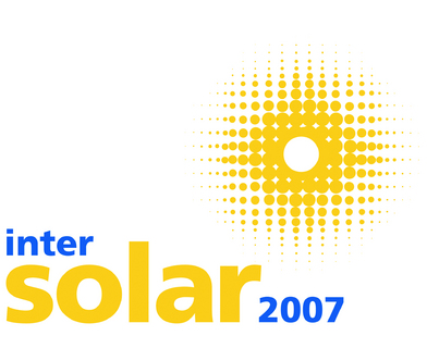 Innovationen, Trends und Know How im Rahmenprogramm der Intersolar 2007