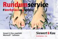 Service Media Alert: Workplace-as-a-Service bei Siewert & Kau