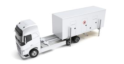 Aufbau des mobilen Labors MobiLab