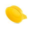 Materialsparende Herstellung, stapelbares Design: ECO-Griffstopfen GPN 480 mit Grifflasche aus Polystyrol (PS) aus neuer Pöppelmann KAPSTO® Normreihe