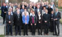 Bei der Jubilarehrung wurden langjährige Mitarbeiter und in Rente gegangene Beschäftigte der Hochschule Aalen geehrt, © Hochschule Aalen/ Carolin Fischer