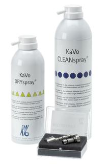 Validierte Intensiv-Innenreinigung von Instrumenten mit KaVo CLEANspray und KaVo DRYspray