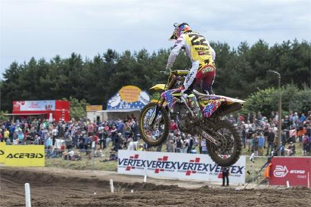 Seewer talks historic swiss motocross GP