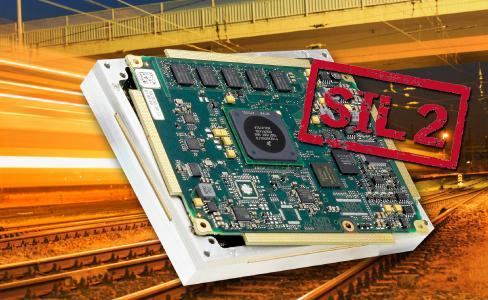 SIL-2-Zertifikat für COM-Modul mit QorIQ