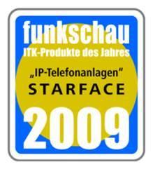Die vertico software GmbH hat mit ihrer Hybrid-Telefonanlage STARFACE hervorragend abgeschnitten und den 1. Platz in der Kategorie IP-Telefonanlagen belegt.