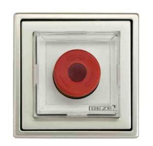Notöffnung der automatischen Schiebetür mit dem Notschalter NOT 320 von GEZE