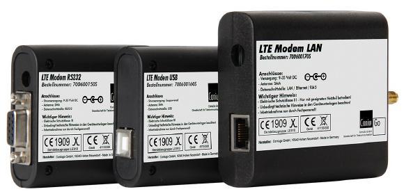 LTE Modem RS232 USB LAN