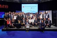 Herzlichen Glückwunsch an die Award-Gewinner Continental und parcelLab wie auch an die weiteren Finalisten Lufthansa Technik Logistik Services, Magazino, Metrilus, Nokia, Robert Bosch und shipcloud, die in den Finalisten-Pitches auf der EXCHAiNGE innovative und in ihrem Feld herausragende Lösungen gezeigt haben