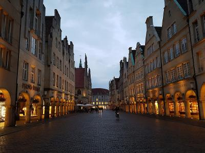 Münster bei Nacht...