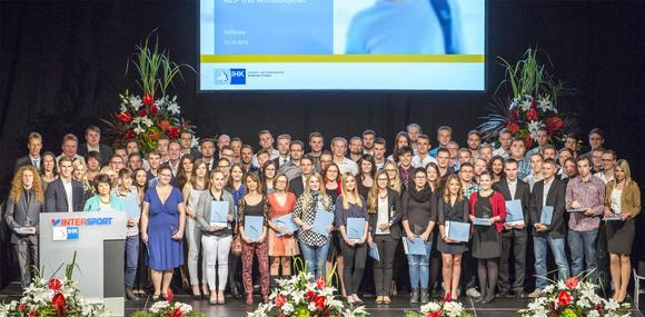 IHK-Absolventenfeier Landkreis Heilbronn im Herbst 2015