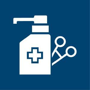 Die neue IHO-Desinfektionsmittelliste enthält die Produktbereiche Händedesinfektion, Flächendesinfektion, Instrumentendesinfektion, Wäschedesinfektion, Lebensmittelhygiene, öffentlicher und industrieller Bereich und Tierhygiene