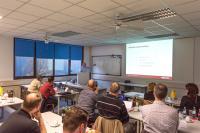 Treston Deutschland Workshops: Bereits im Vorjahr war das Interesse an den Vorträgen zu Lean Production und Ergonomie groß.  Bild: © Treston Deutschland GmbH