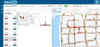 Durch die Kombination von Mobilfunk und Cloud-Service können die Logger-Daten über jeden gängigen Webbrowser abgerufen werden. Die Logger korrelieren miteinander und stellen automatisch die Ergebnisse in der Karte dar. Leckhinweise sind mit hellroten Kreisen in der Kartenansicht markiert.