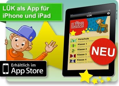 Die neue LÜK-App ist ab sofort im App Store erhältlich
