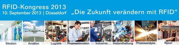24 Praxisvorträge aus Industrie, Handel, Logistik, Aviation und Medizin auf dem RFID-Kongress am 10. September in Düsseldorf