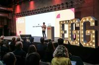 Dat Tran, Head of AI bei Axel Springer, begeisterte auf der EGG Germany mit seinem erfrischenden und informativen Vortrag