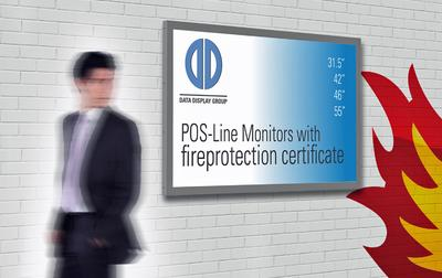 ISE 2016: Smoke and fire load optimized monitors for areas with strict fire regulations