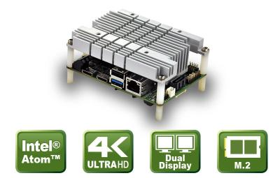 Kompaktes Embedded Board mit Apollo Lake SoC