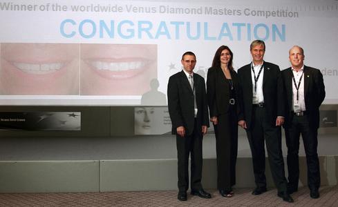 Gewinner der Venus Diamond Masters Competition in Rom ausgezeichnet