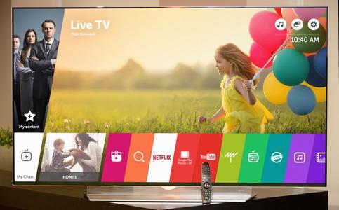 LG stellt auf der CES 2016 die neueste Version seiner populären webOS Smart-TV-Plattform vor