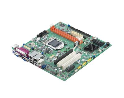 Advantech Highly Secure Micro-ATX Industrial Motherboard for ATM/KIOSKs