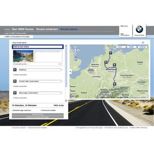 BMW ConnectedDrive: Faszination erfahren mit BMW Routes