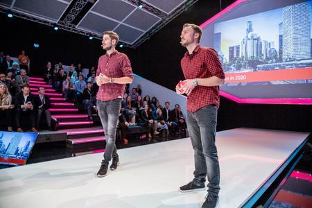 Jonathan Muhr und Marcel Fischer (DigitasLBi AG)