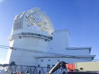 TSUBAKI KABELSCHLEPP realisierte eines der weltweit größten Energieführungssysteme für ein Solar-Teleskop