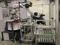 Innovative robotic solution: fully automatic Vibratory Finishing