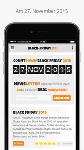 Black-Friday.de App Screenshot 1