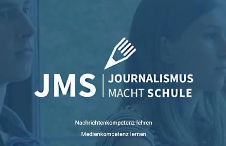 Journalismus macht Schule Logo